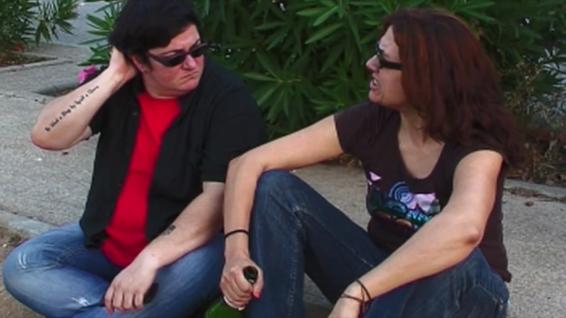 Txus Garcia y Laura Freijo