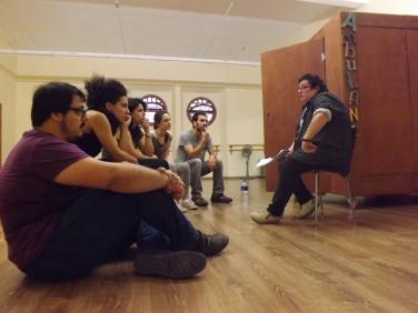 Txus Garcia a La Capsa Ambulant d'Artistes