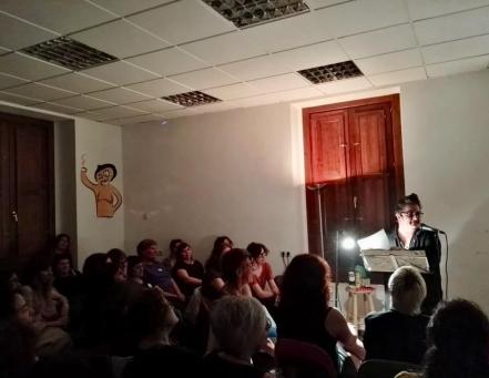 Presentación en La Tetera, Valencia