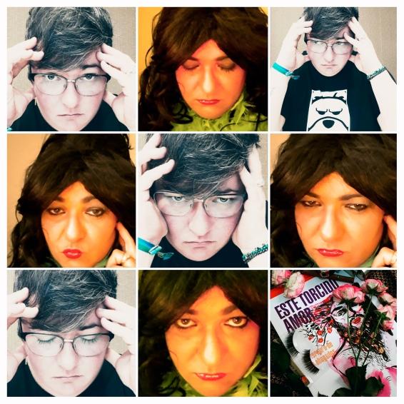 Collage Txus Garcia señora rara