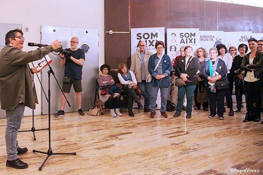 "Presentación ""Som així"", foto Pepa Vives"